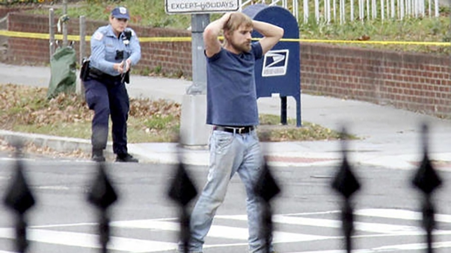 Edgar Welch arresteras efter att ha attackerat enpizza i Washington DC.